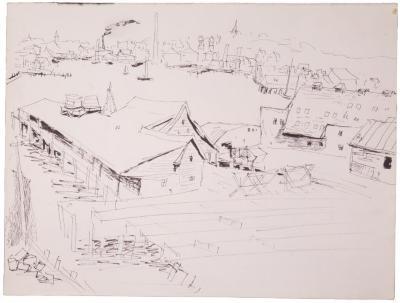 [Wharf, Gloucester, Massachusetts]
