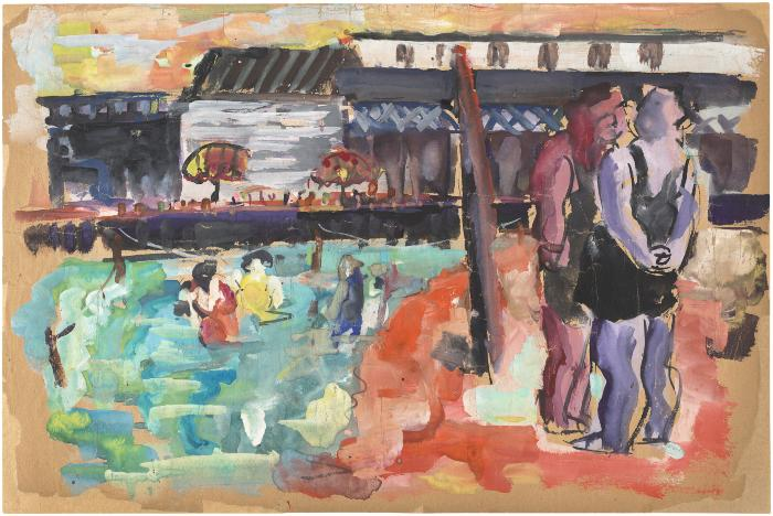 [Bathers, Brighton Beach]