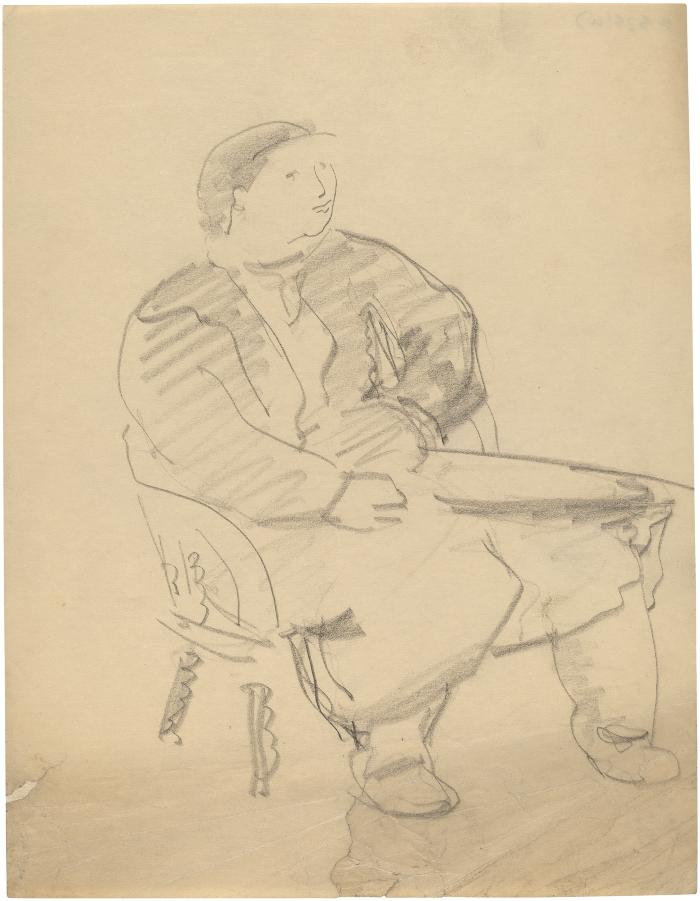 [Woman in chair]