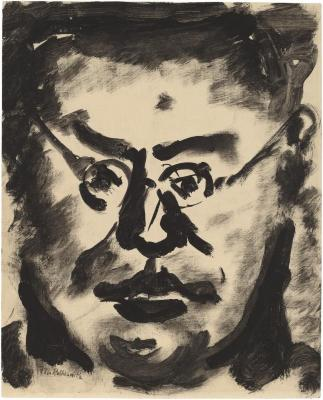[Head of a man wearing eyeglasses]