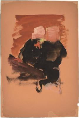 [Two seated figures]