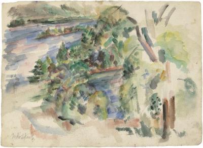 [River landscape]