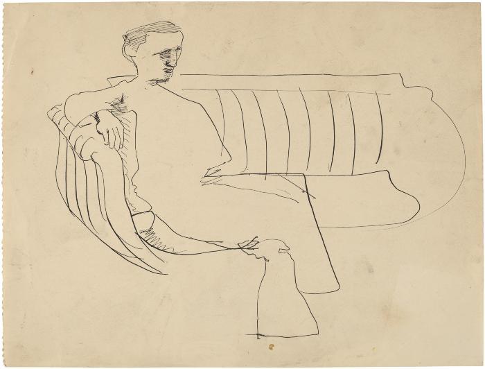 [Man on sofa]