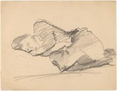 [Sleeping woman]