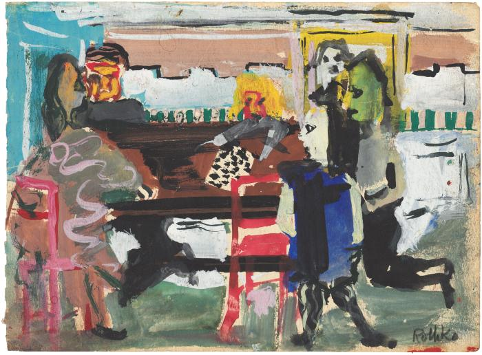 [Interior with figures at piano]