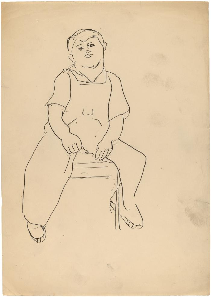 [Seated boy]