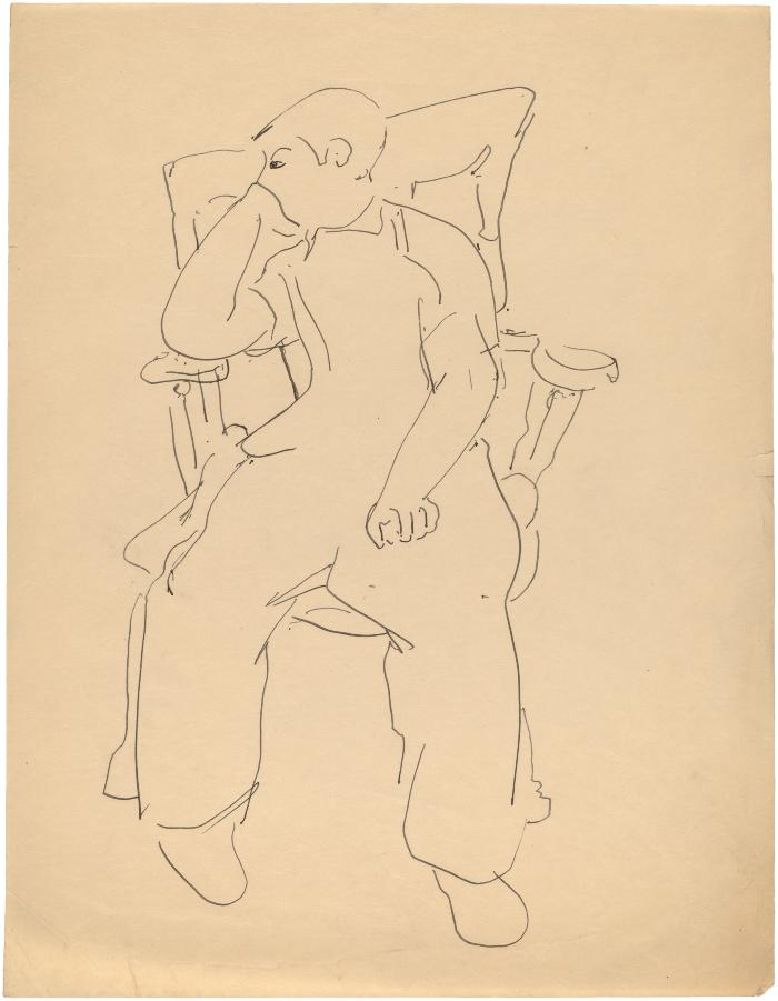 [Boy in rocking chair]