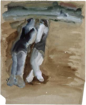 [Bathers on the beach]