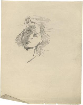 [Head of a woman]