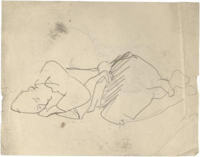 [Sleeping woman]