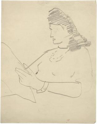 [Woman reading]