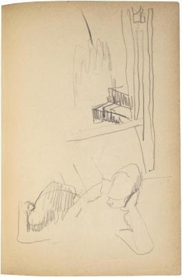 [Reclining figure] The Scribble-In Book, page 69