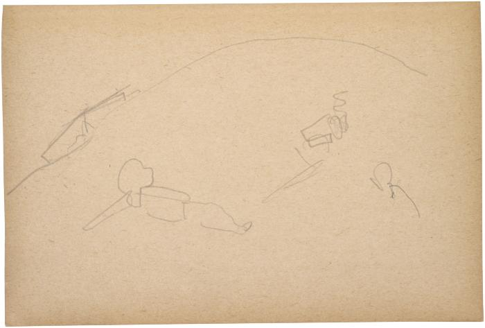 [Reclining figure] The Scribble-In Book, page 204