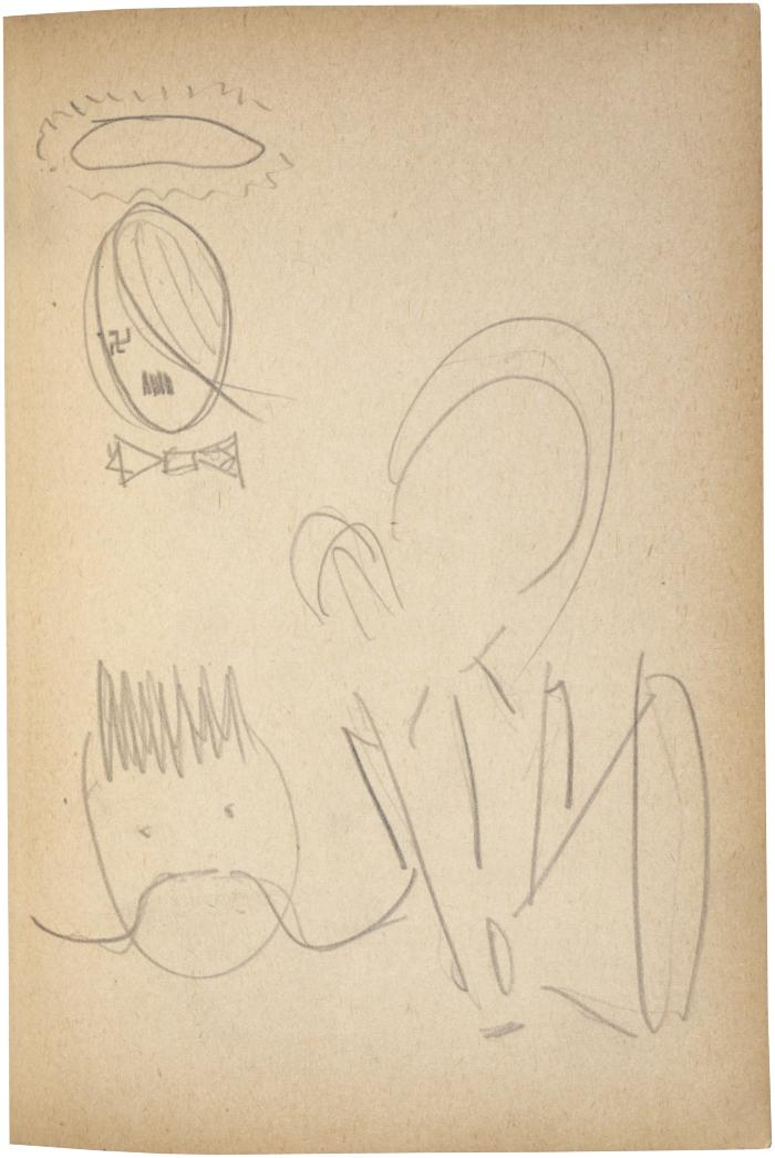 [Caricatures] The Scribble-In Book, page 75